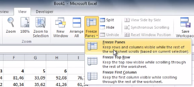 Tip Of The Week Freeze An Excel Row For Easier Spreadsheet